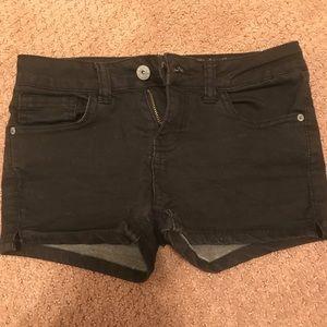Vanilla star tillys kids black shorts ❤️